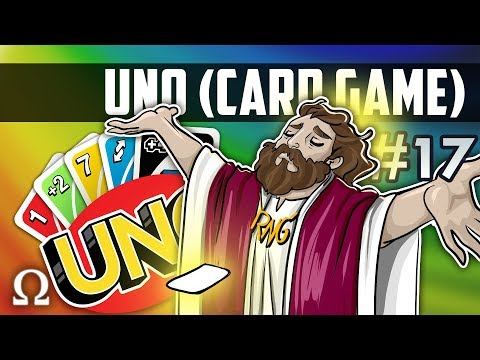 BEHOLD THE POWER OF RNGESUS!  Uno Card Game 17 Ft. Friends