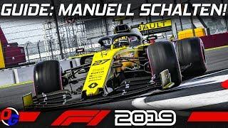F1 2019 Tutorial | Manuell Schalten statt Automatik Getriebe | Formel 1 2019 Guide German Deutsch