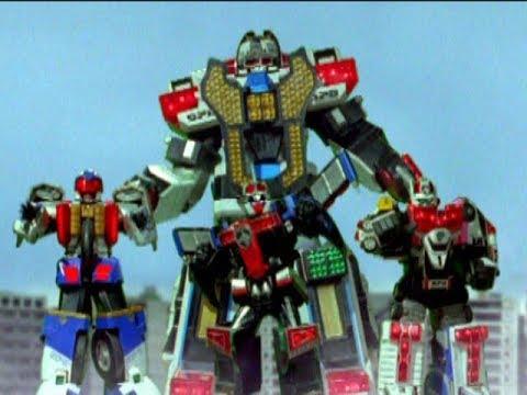 power rangers spd ultimate megazord finisher youtube
