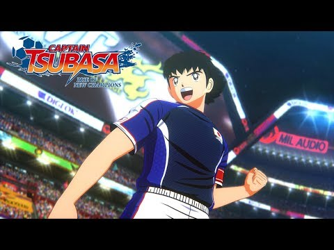 [IT] Captain Tsubasa: Rise Of New Champions - Release Date Reveal Trailer - PS4/PC/SWITCH