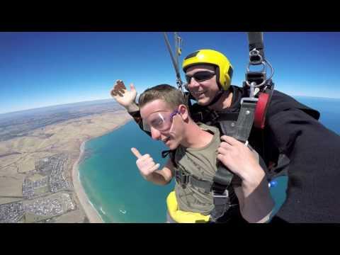 George Norris at Coastal Skydive