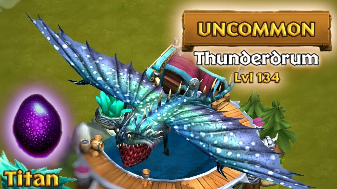 Thunderdrum - Titan Mode Max Level 134 | Dragons: Rise of ...