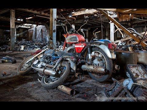Заброшенный гараж капсула времени