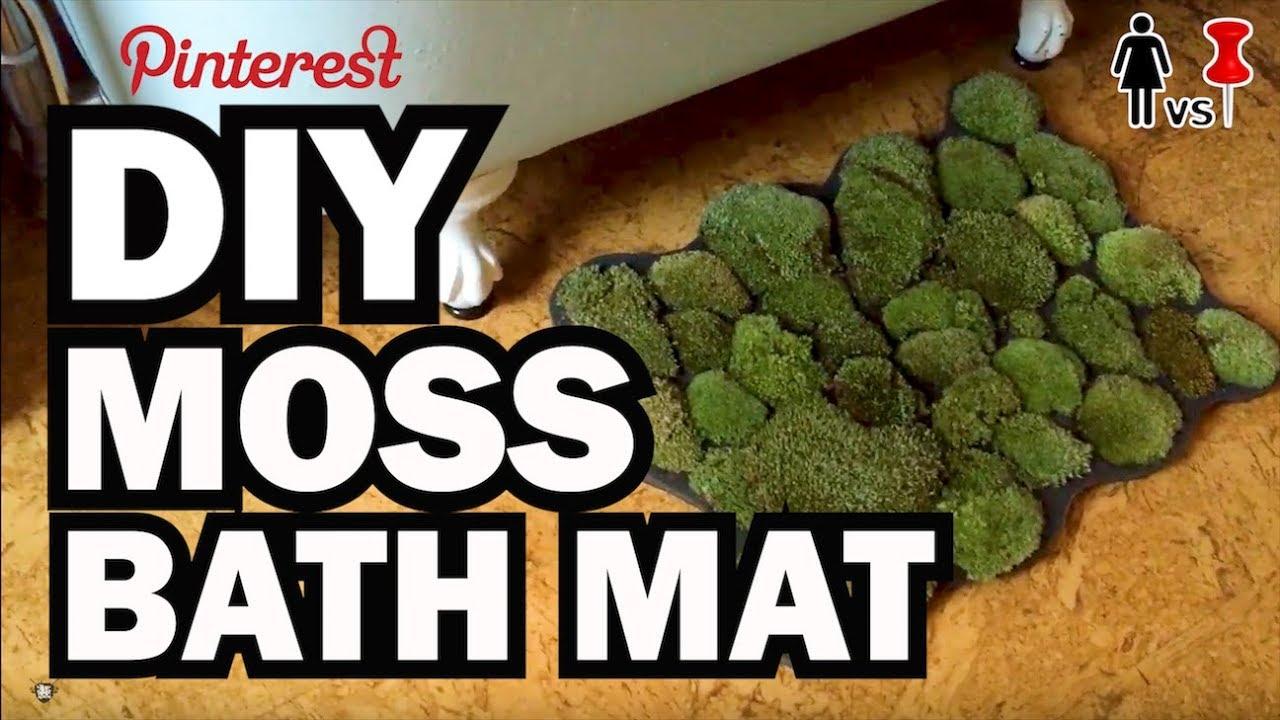 Moss Mats Diy Moss Bath Mat Corinne Vs Pin 28 Youtube