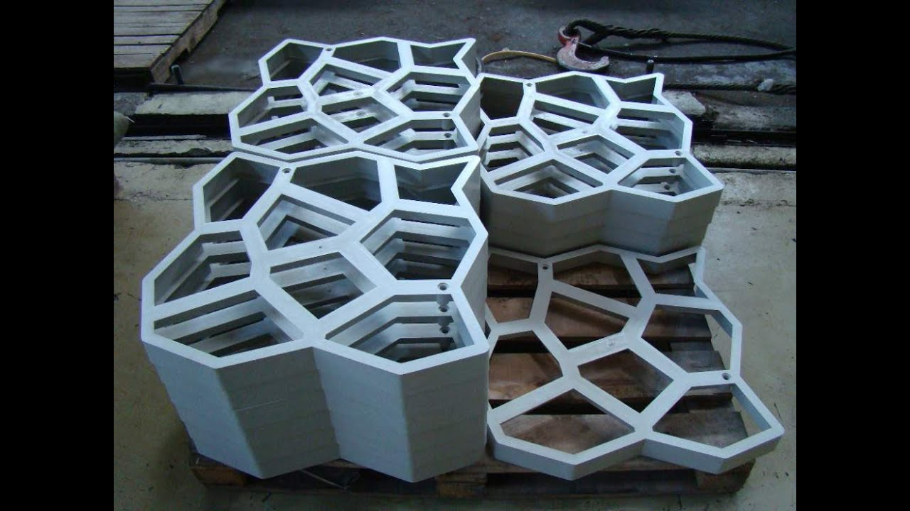Купить формы для изготовления тротуарной плитки в Брянске - YouTube