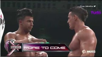 The Wolves vs. The BroMans vs. Team 246 - TNA Tag Team Champ. - Global Impact 2014