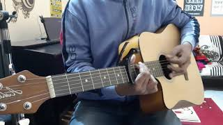Red River Valley ( county song) easy guitar chord and strum pattern.