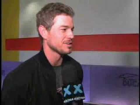 'Extra' Interviews Eric Dane at Ducati Event