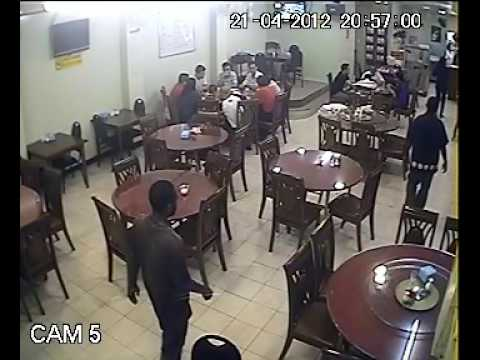 Robbery at The Wok in Port Moresby, Papua New Guinea