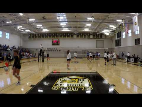 St. Agnes Academy vs. Monsignor Kelly Catholic High School - Set 1 of 3