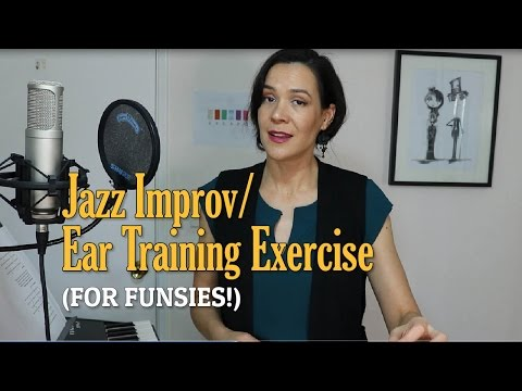 Jazz Improv & Ear Training Exercise