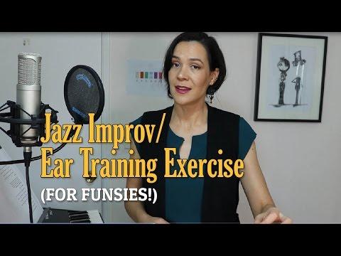 Jazz Improv & Ear Training Exercise