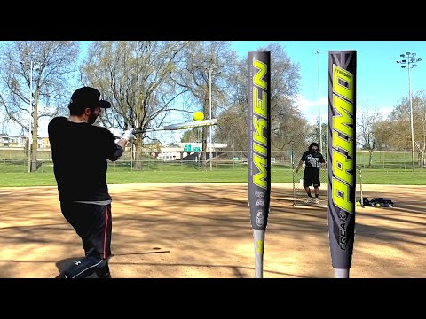 HITTING WITH THE 2020 MIKEN FREAK PRIMO SUPERMAX USSSA BAT - Slowpitch Softball Bat Reviews
