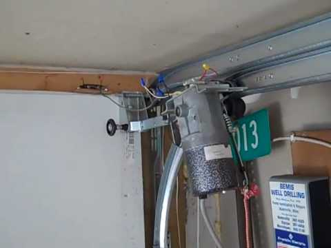 low clearance garage doormiracle garage door opener  YouTube