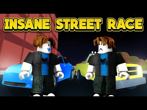 INSANE STREET RACE! (ROBLOX Jailbreak New Player Challenge)
