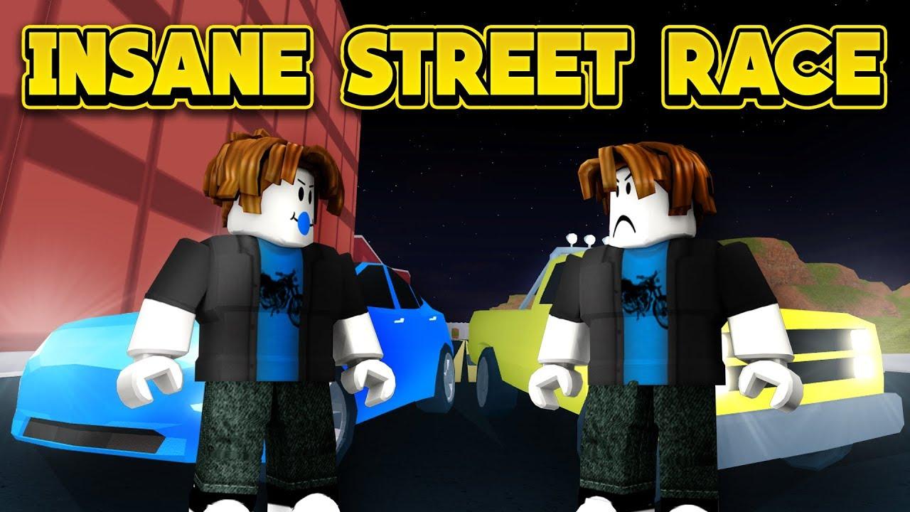 insane street race roblox jailbreak new player challenge youtube