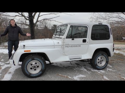 Heres a Tour of a Perfect Jeep Wrangler ... From 1993
