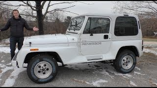 Here's a Tour of a Perfect Jeep Wrangler ... From 1993