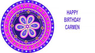 Carmen   Indian Designs - Happy Birthday