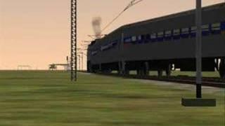 Train Simulator Video