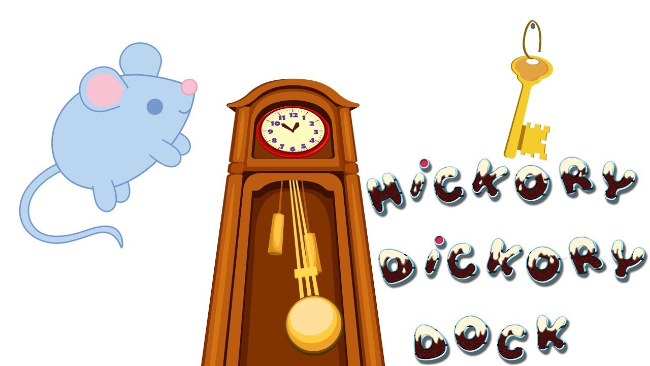 Hickory Dickory Dock - Cartoon Animation Rhymes & Songs for Children - Cartoon Songs