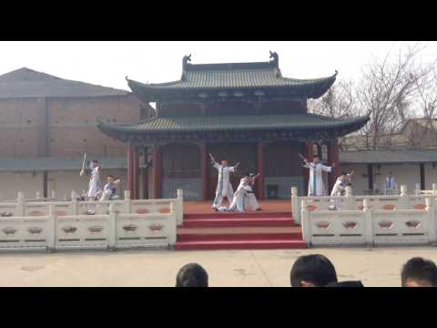 Chinese Martial Art Performance in Iron Pagoda, KaiFeng, Henan, China