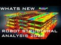 NEW FEATURES IN AUTODESK ROBOT STRUCTURAL ANALYSIS 2020