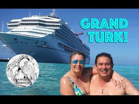 Grand Turk en las Islas Turcas y Caicos en el Mar Caribe