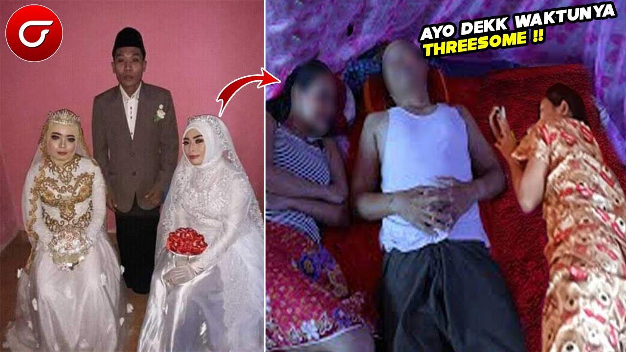 Download VIRAL!! Pria yang Nikahi Dua Gadis Sekaligus ini Ceritakan Malam Pertamanya Sungguh Mengejutkan...