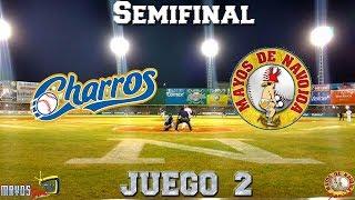 Semifinal: Charros de Jalisco vs Mayos de Navojoa Juego 2 En vivo EN HD