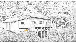 Auto Draw 2: Cedar Creek Grist Mill, Vancouver, Washington