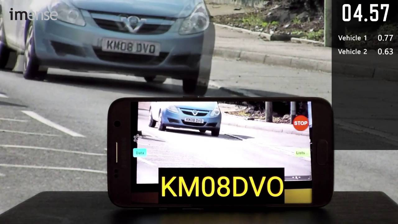 ANPR Android Capturing Passing Traffic License Plates