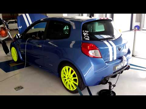 Clio RS gordini pop corn