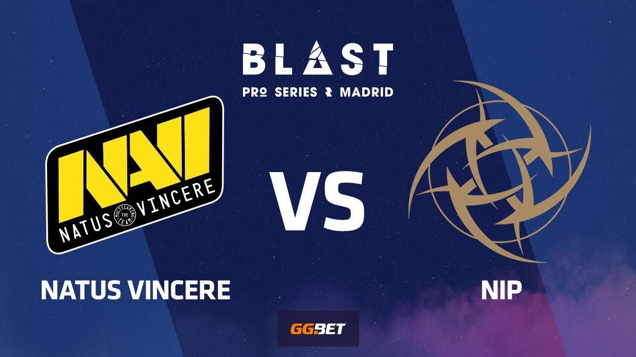 Natus Vincere vs NiP | Dust2 | BLAST Pro Series Madrid 2019