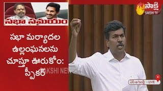 MLA Duddukunta Sreedhar Reddy speech at AP Assembly Session 3rd day | Sakshi TV