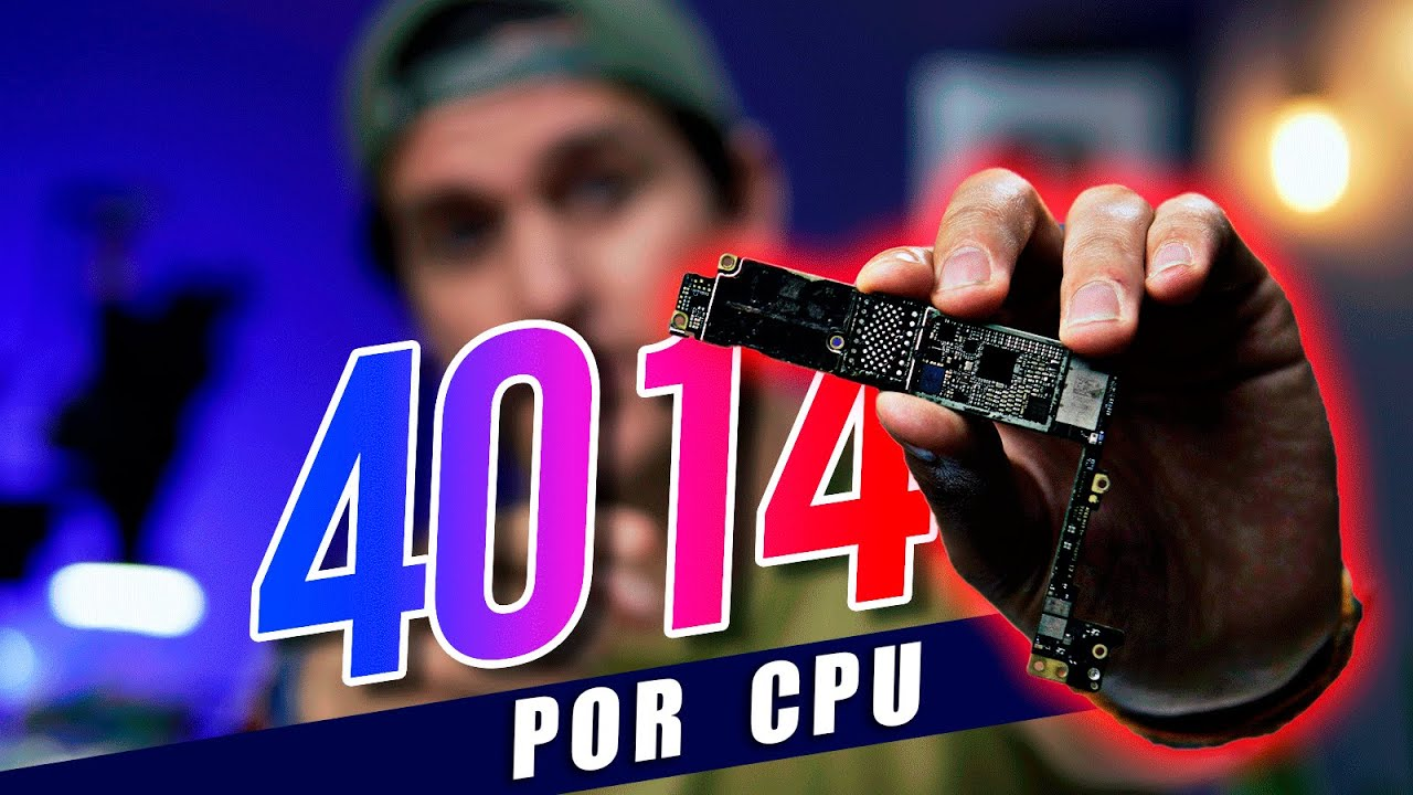 ERROR 4014 POR CPU FISURADO 🔥 - [PASO A PASO] iPhone 7 Plus error en iTunes
