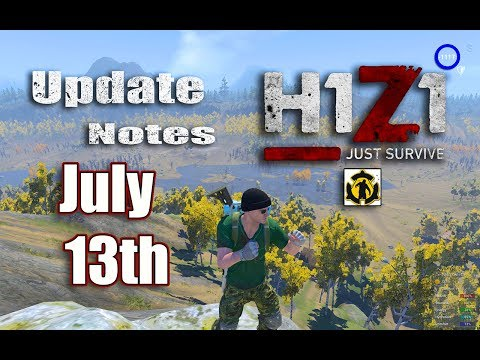 H1Z1 Just Survive Badwater Canyon Update July 13th