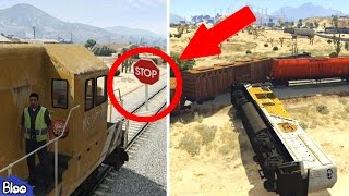 TOP 10 How To Stop The Train In GTA 5 Videos (VanossGaming And Many More!)