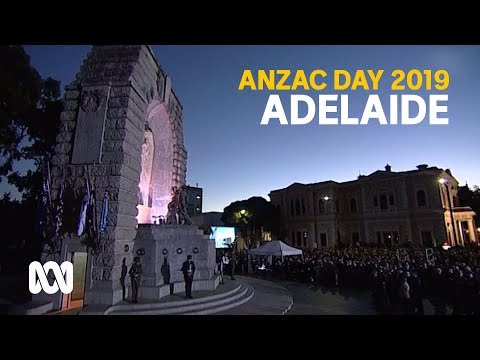 Anzac Day 2019 - Adelaide March And Service