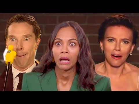 Avengers: Infinity War Cast  All Best Funniest Moments
