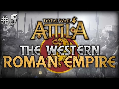 Total War: Attila - Pagan Western Roman Empire Campaign #5 - Rebel Purging