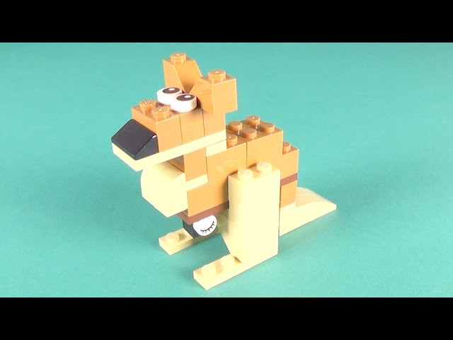 Lego Kangaroo Building Instructions - Lego Classic 10698