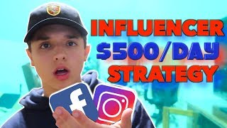 My Influencer Marketing Strategy REVEALED