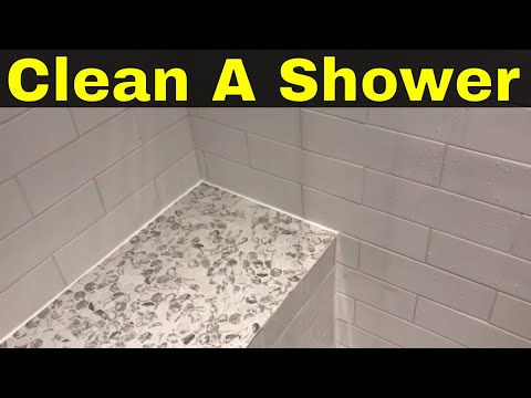 How To Clean Shower Tiles And Grout Easily-No Scrubbing Required