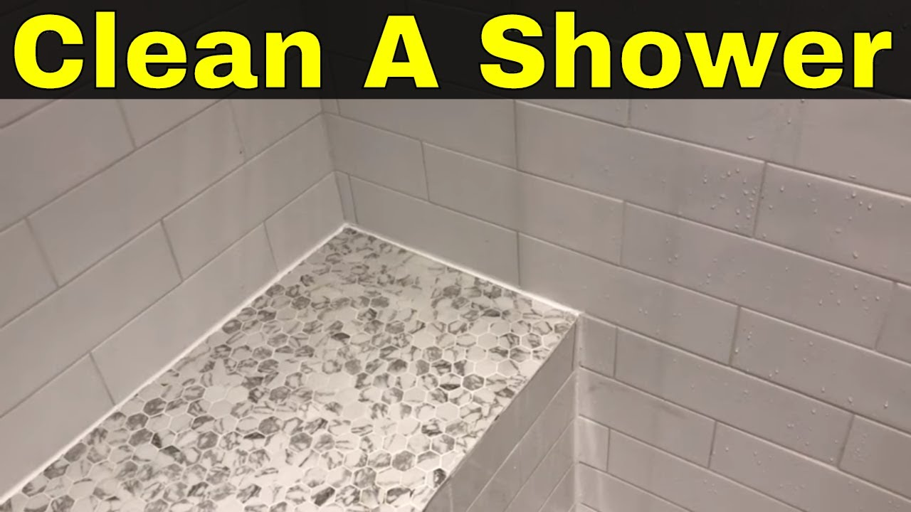 How To Clean Shower Tiles And Grout Easily No Scrubbing Required