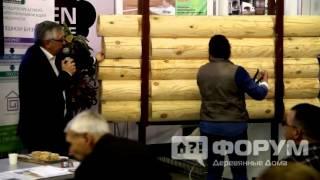 Как наносить акриловый герметик для дерева Perma Chink Пермачинк(Акриловый герметик для дерева купить., 2016-02-09T13:32:24.000Z)