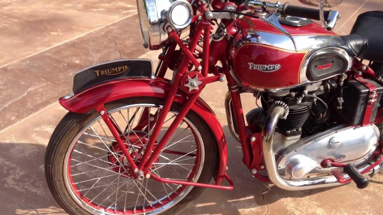 1939 Triumph Speed Twin Youtube