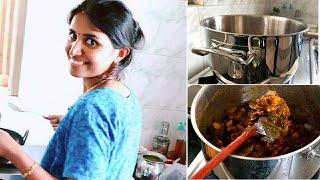 இன்றைய மதிய உணவு வேளை | Thursday Lunch routine | Vennila Veedu