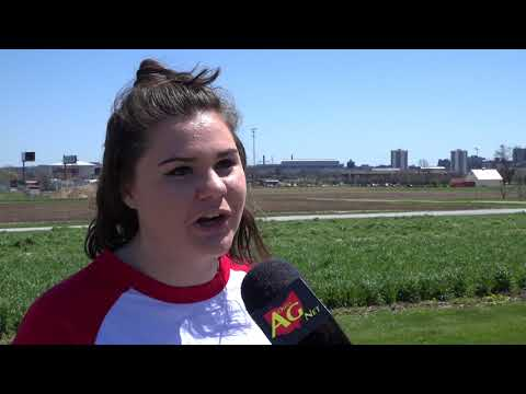 Ohio State students talk agriculture at Farmers Share