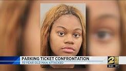 Parking ticket confrontation